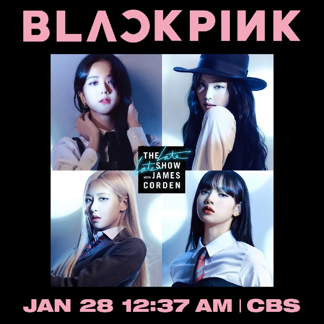 BLACKPINK en The Late Late Show With James Corden