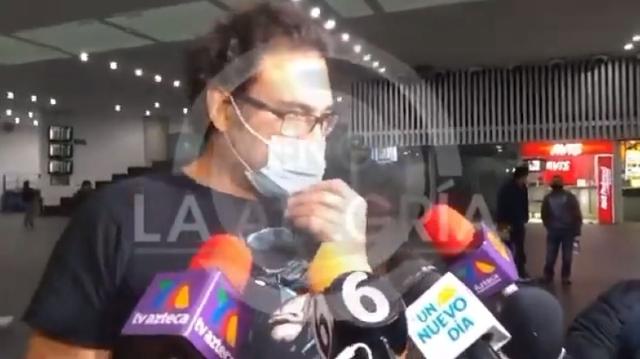 Eduardo Yáñez agrede a un reportero nuevamente