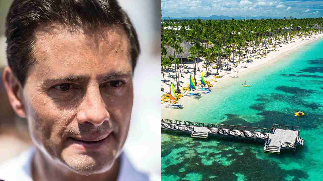 Revelan el paradero de Enrique Peña Nieto en una lujosa isla paradisíaca