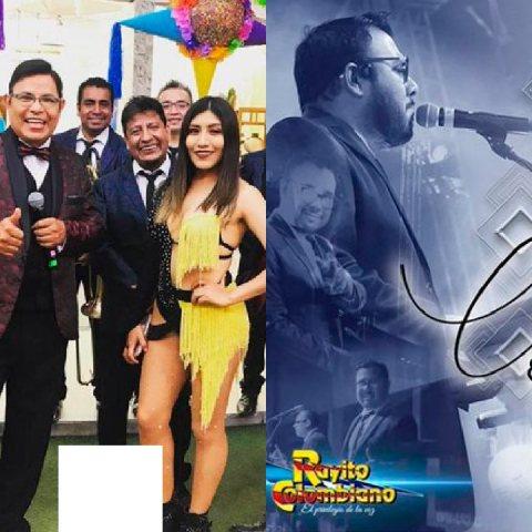 César Estrada de la agrupación Rayito Colombiano
