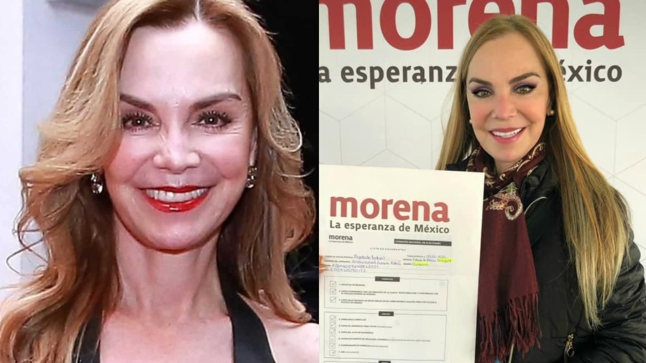 Gabriela Goldsmith, actriz, se registra como precandidata de Morena para Naucalpan