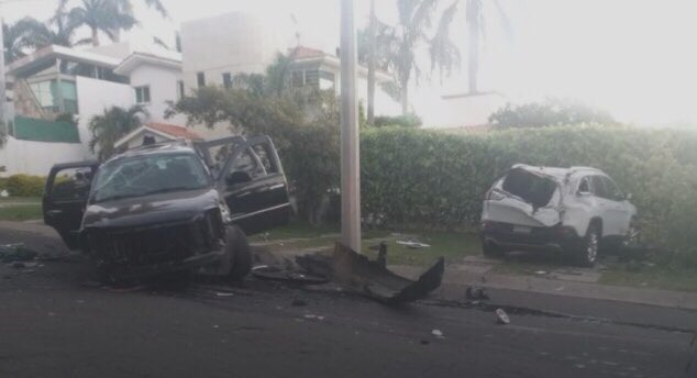 """Hijo de María Elena Saldaña """"La Güereja"""" sufrió fuerte accidente automovilístico"""