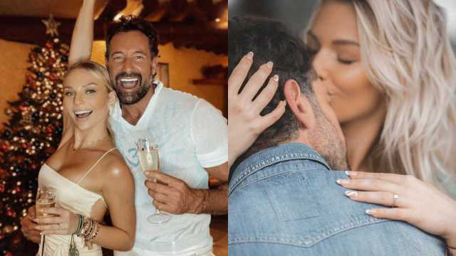 Gabriel Soto anuncia su compromiso con Irina Baeva