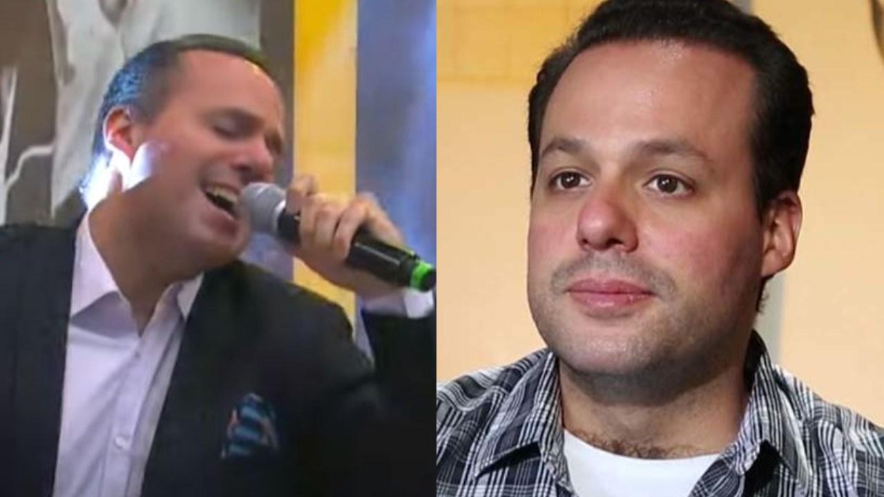 """José Joel hace el ridículo cantando """"El Triste"""" con banda en vivo"""