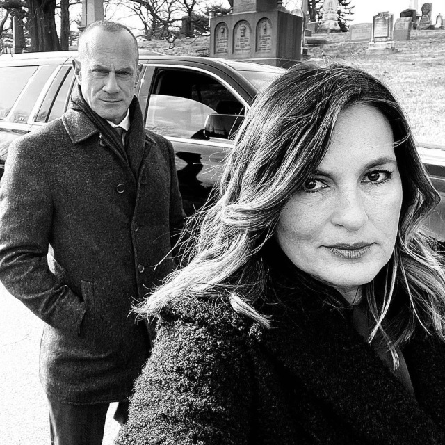 Mariska y Christopher