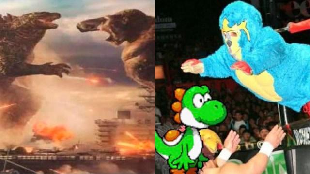 Mejores memes de la película godzilla vs king kong