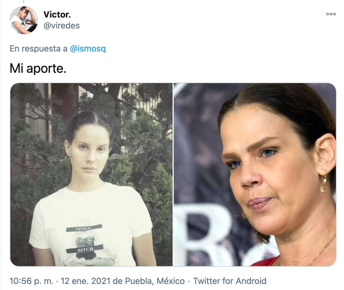 Niurka con Lana del Rey