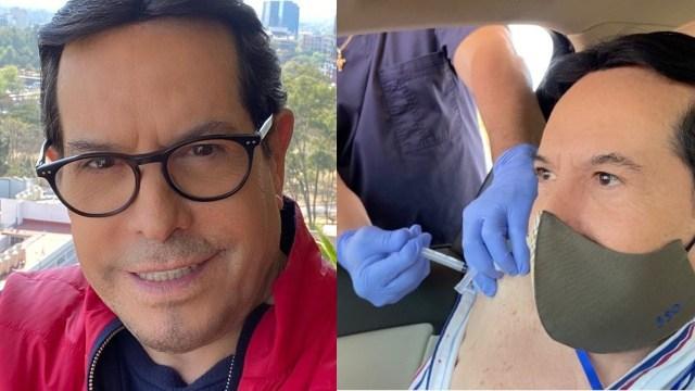 Pepillo Origel muestra que se vacunócontra Covid y le llueven críticas