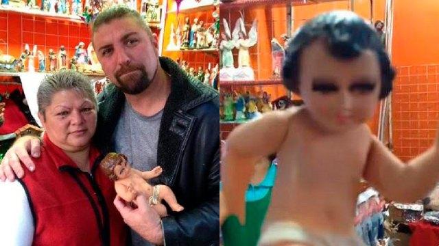 Muere mujer del video del niño dios pasito perrón