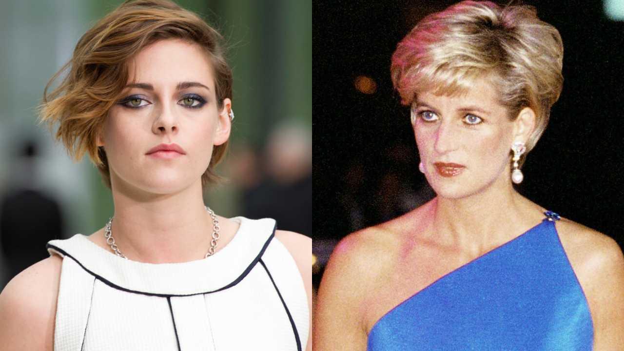 Kristen Stewart se transforma en la princesa Diana con estas imágenes