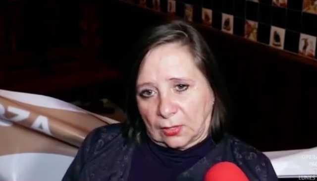 Mamá de Geraldine Bazán Rosalba Ortiz