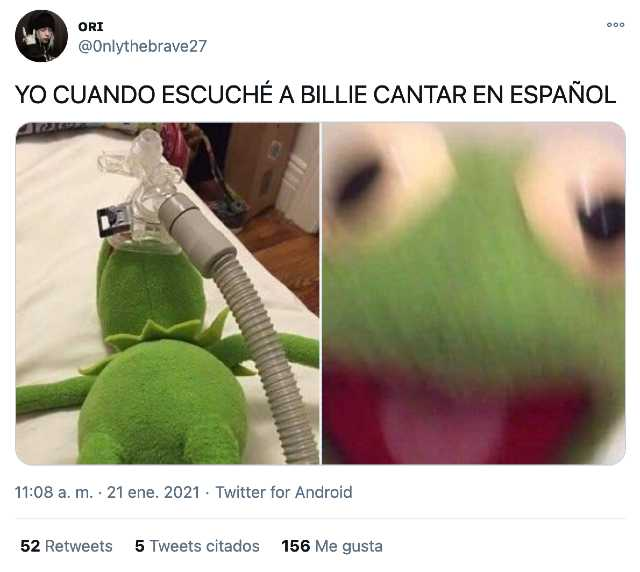 Reacciones a Lo vas a olvidar de Billie Eilish y la Rosalía