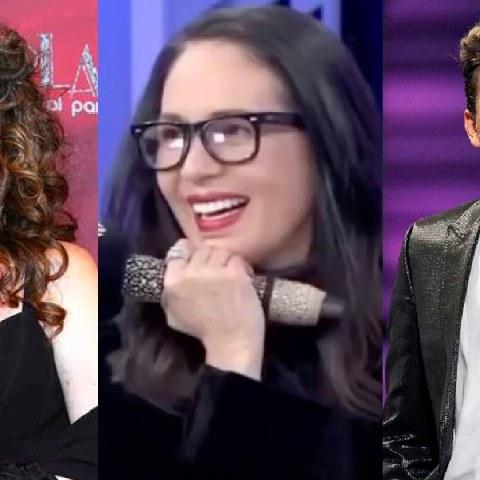 Yolanda Andrade enamorada de Verónica Castro y Cristian solo viendo
