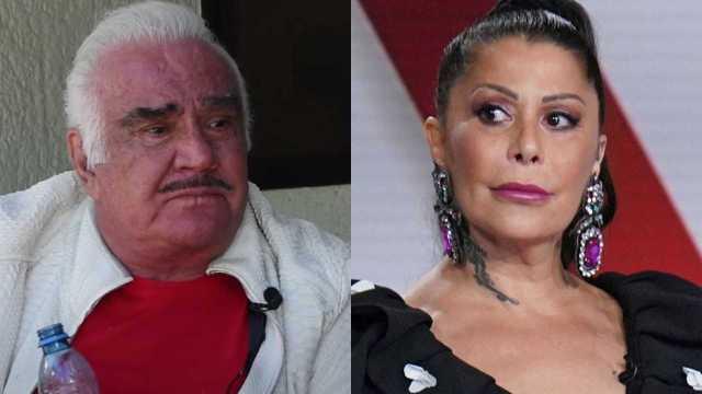 Alejandra Guzmán defiende a joven que acosó Vicente Fernández