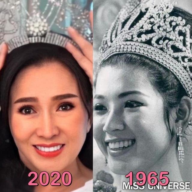 Miss universo Apasra Hongsakula
