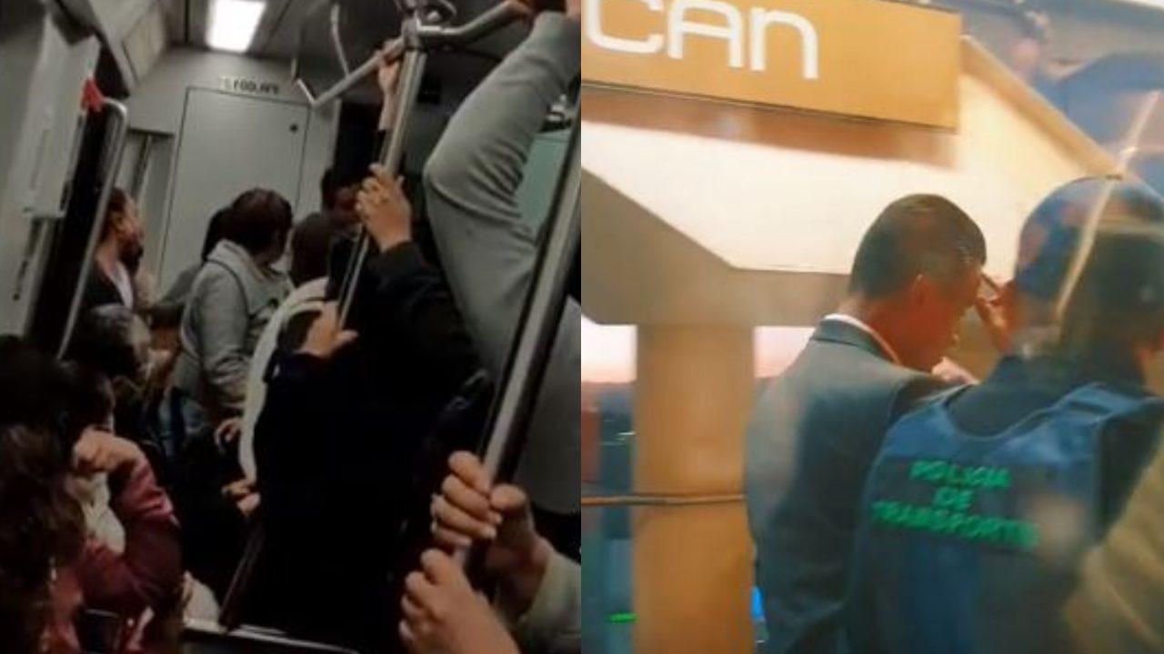 Cachan a conductor del Metro teniendo relaciones en la cabina