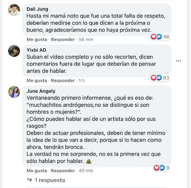Critican a BTS en Ventaneando y ARMY reacciona
