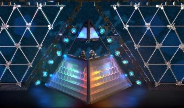 LEGO Daft Punk piramide