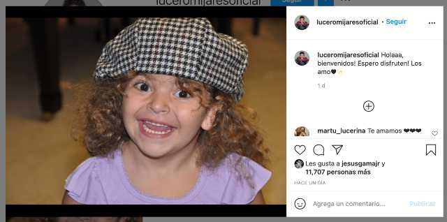 Lucero Mijares llega a Instagram