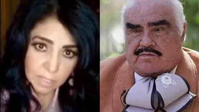 Lupita Castro y Vicente Fernández