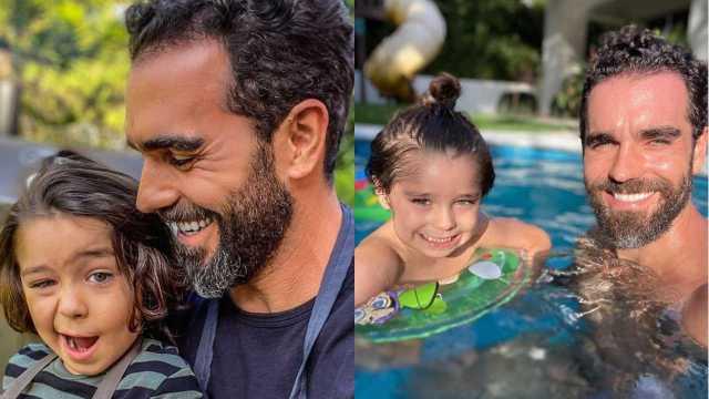 Marcus Ornellas defiende a su hijo tras críticas por usar vestido y tener el pelo largo