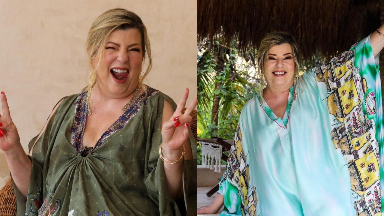 Margarita Diosa de la Cumbia feliz