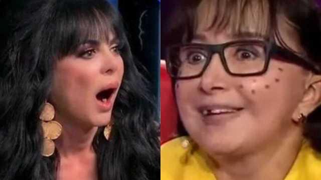 Maribel Guardia reacciona al bikini de La Chilindrina: ¿envidia?