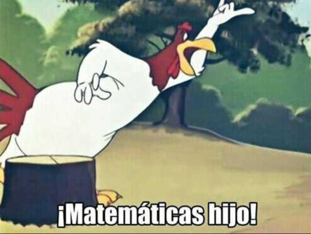 Meme matemáticas hijo