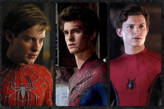 Tres Spiderman