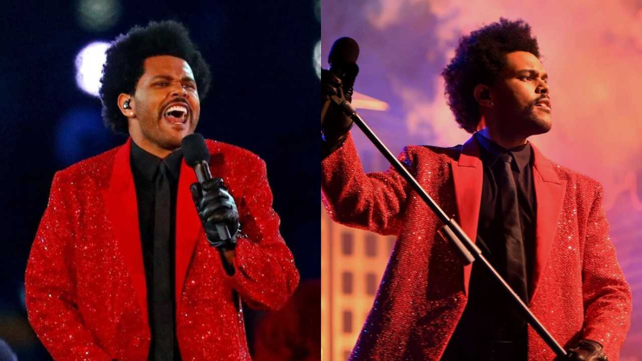 The Weeknd en el Super Bowl 2021
