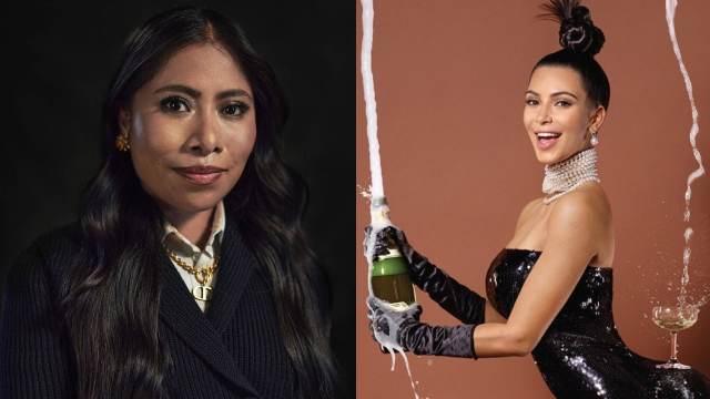 Yalitza Aparicio y Kim Kardashian