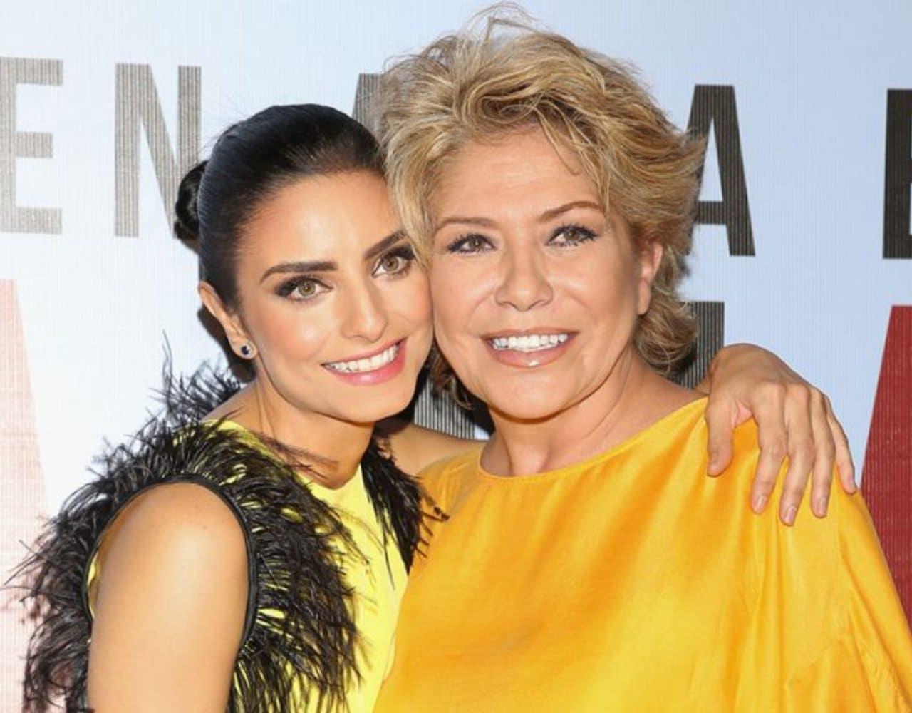 Aislinn y su madre