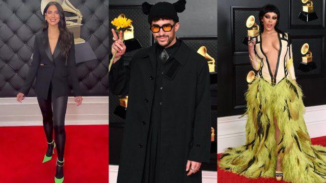 Los mejor y peor vestidos de la Alfombra Roja de los Grammys 2021