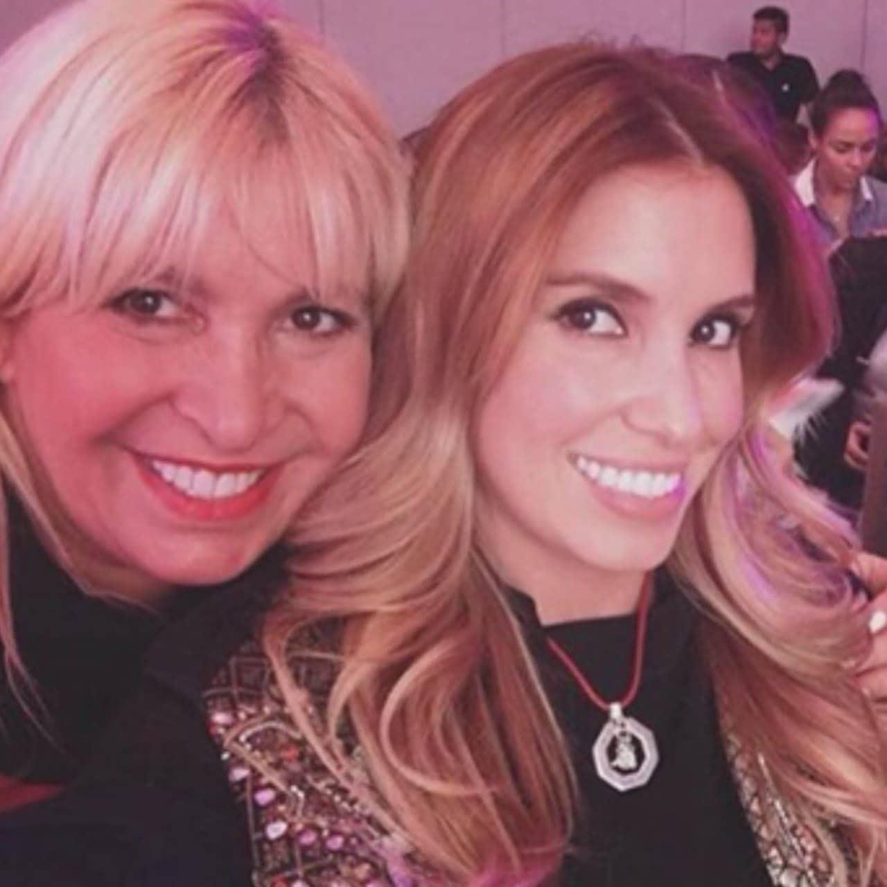 Andrea Escalona y su mamá Magda Rodríguez