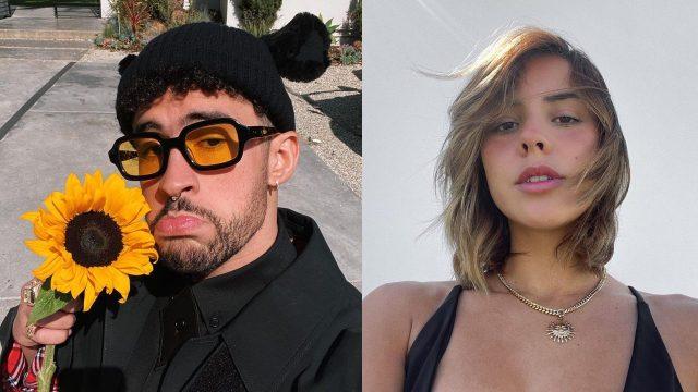 Bad Bunny y su novia Gabriela