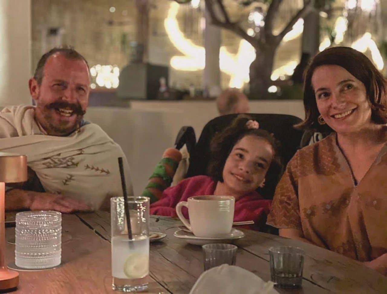 Chef Benito Molina esposa Solange e hija