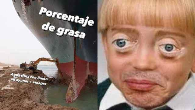 Los 10 mejores memes del barquito atorado en el canal de Suez