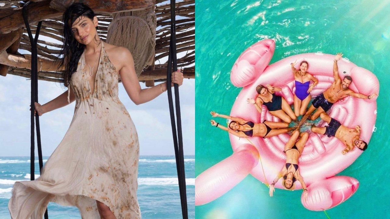 Aislinn Derbez revela nuevas fotos de su cumpleaños 34 en el paraíso