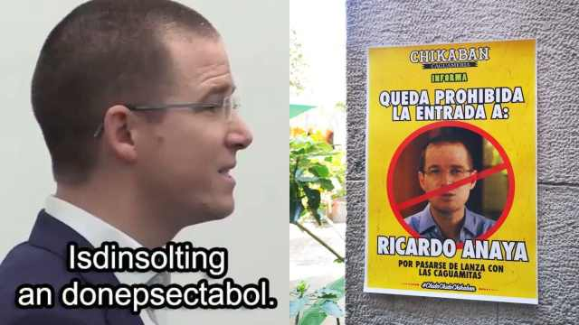 Niegan entrada a bar a Ricardo Anaya por hablar mal de las caguamas