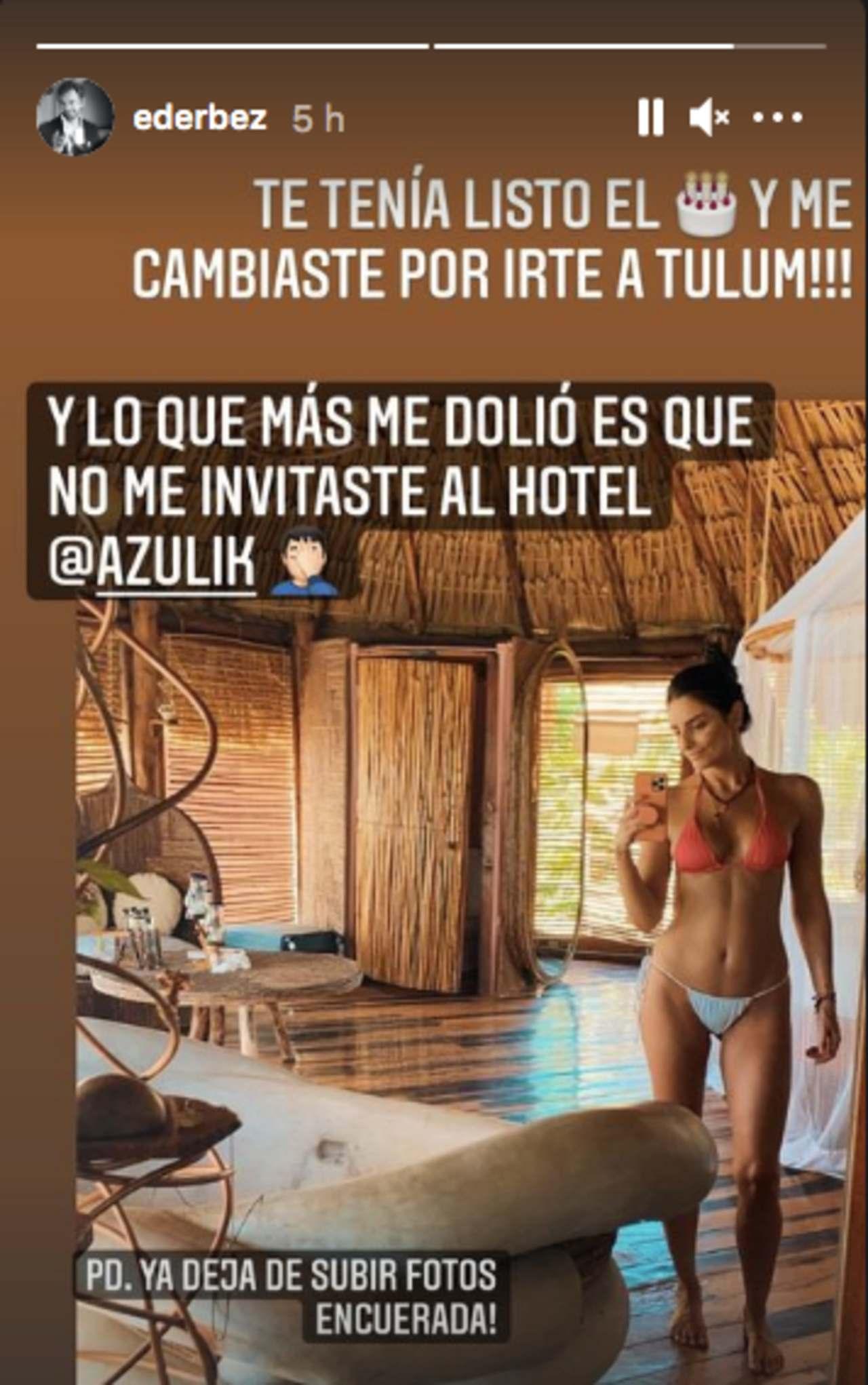 Eugenio Derbez Aislinn Derbez fotos en bikini