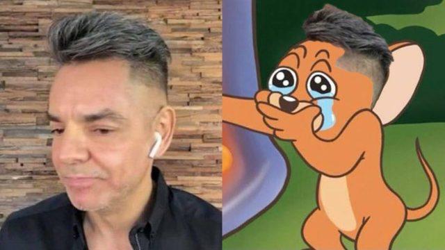 Eugenio Derbez recibe burlas con memes por su nuevo corte de cabello