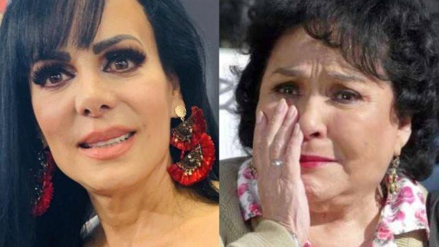 Maribel Guardia y Carmen Salinas son comparadas en meme por su edad