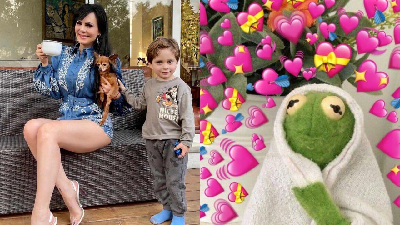 """Maribel Guardia presume lo grande que está su nieto y fans reaccionan: """"qué hermoso"""""""