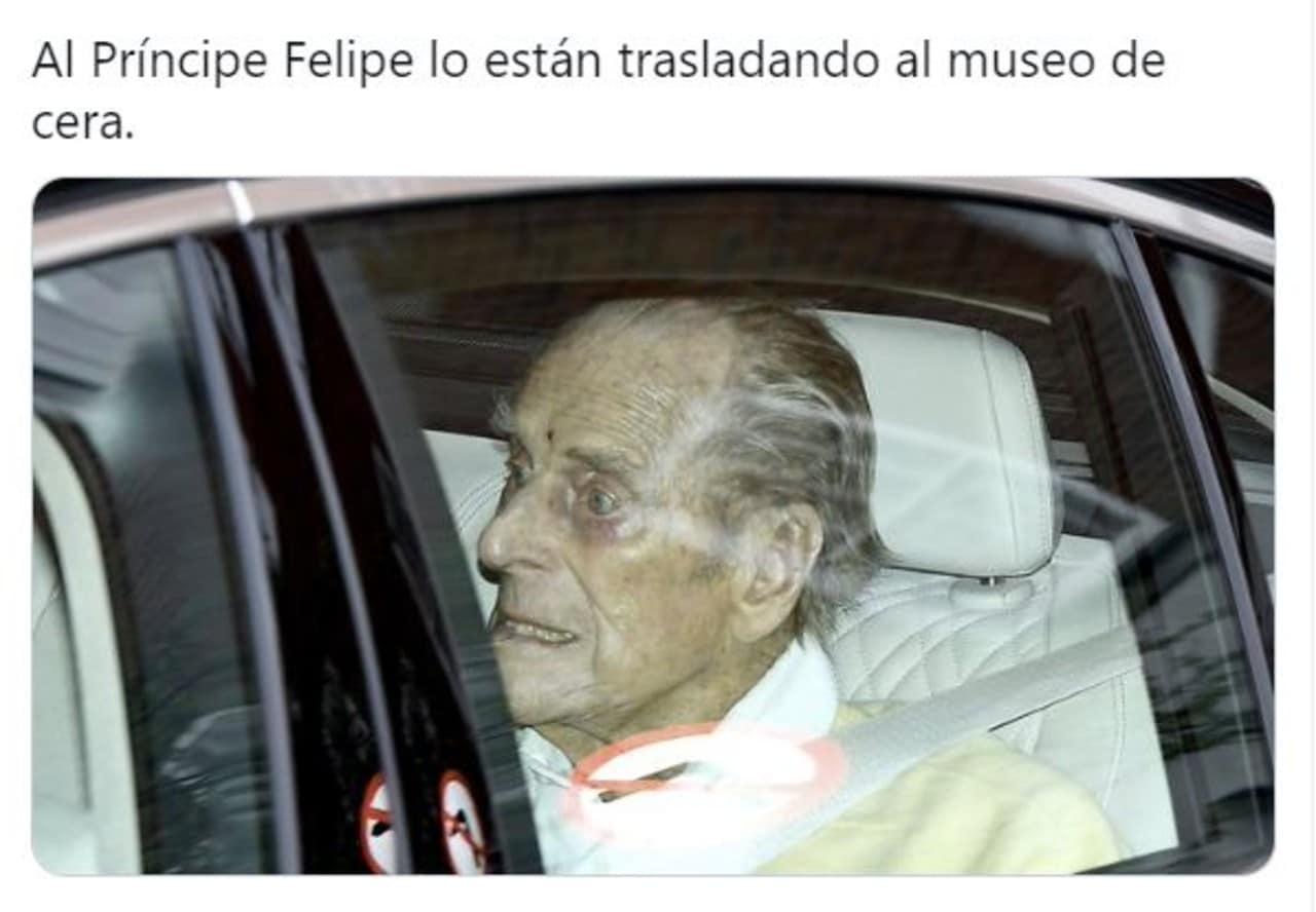 memes principe felipe hospital