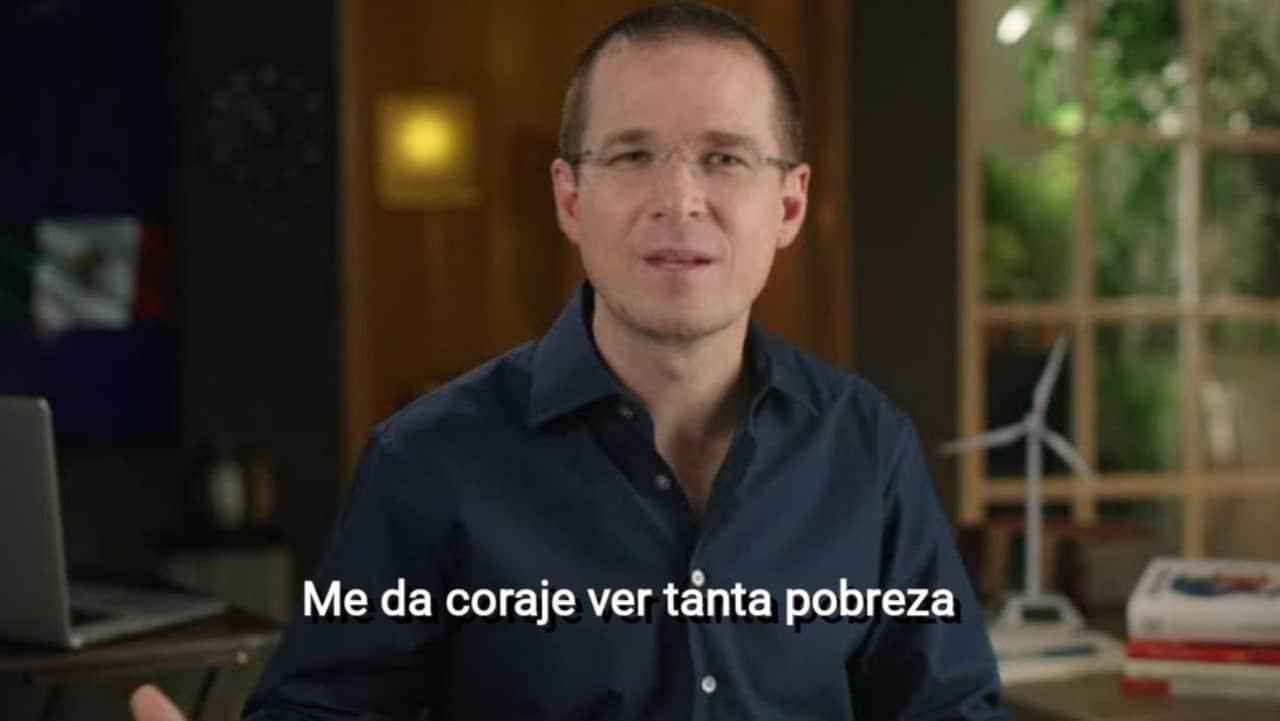Memes Ricardo Anaya coraje ver tanta pobreza