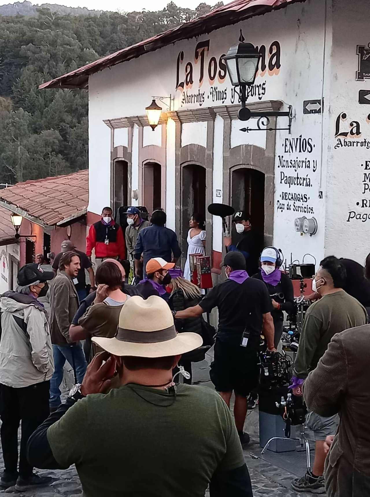 Yalitza Aparicio grabaciones nueva película suspenso presencias
