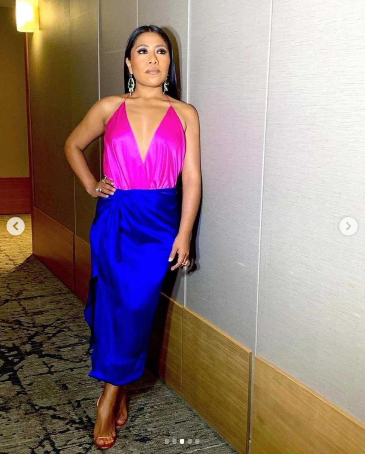 Yalitza Aparicio con un vestido de Kris Goyri