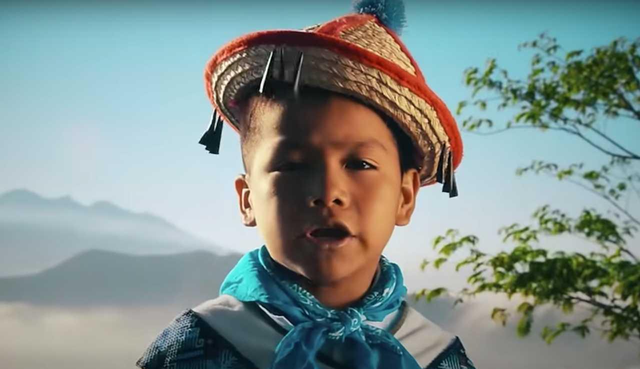 Así se veía a sus 9 años el niño Yuawi
