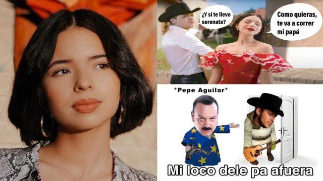 Ángela Aguilar explota contra los memes de su canción con Christian Nodal