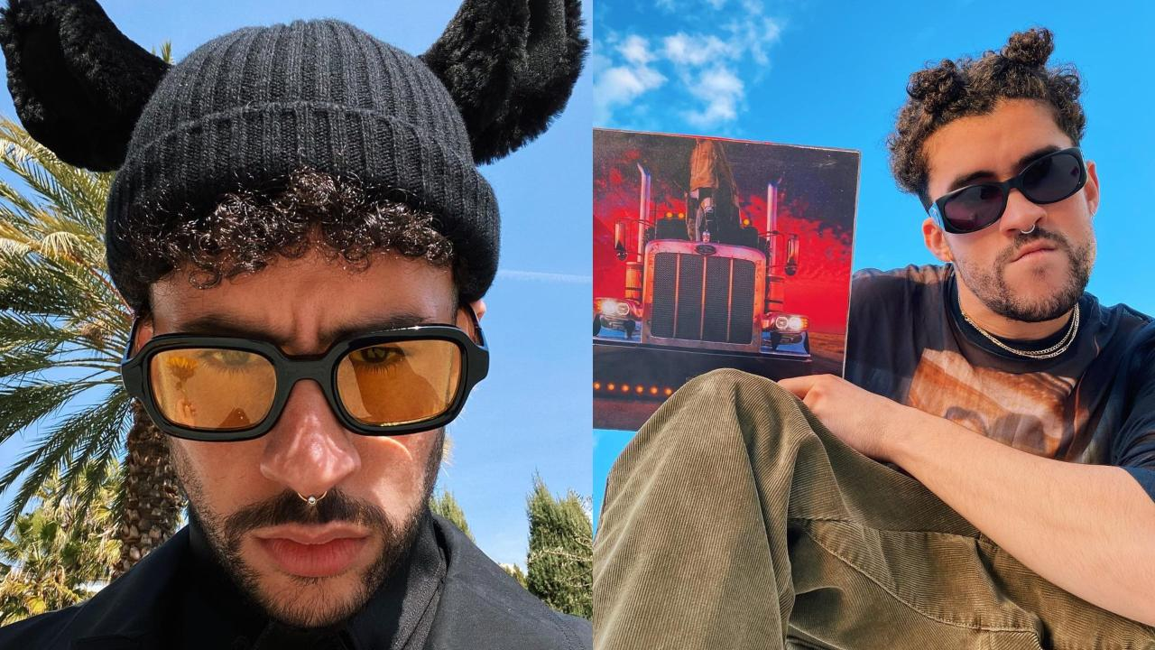 Bad Bunny con su album YHLQSMDLG